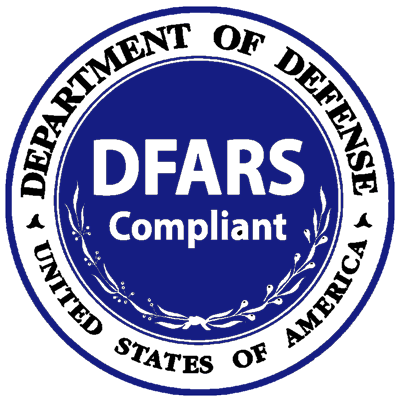 DFARS Compliance stamp