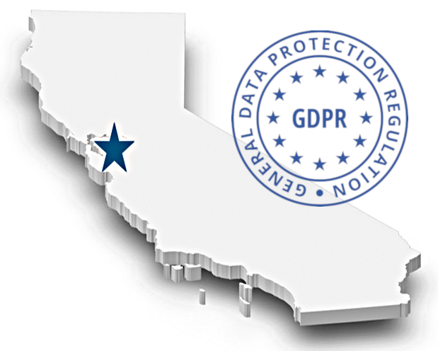 GDPR in california