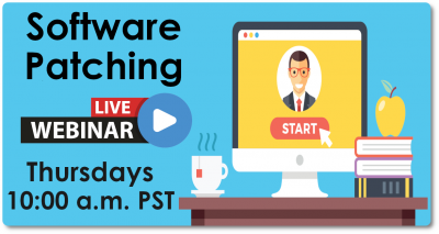 Software Patching Webinar